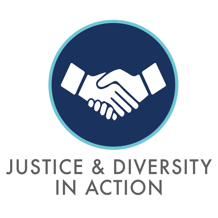 Justice & Diversity in Action Logo