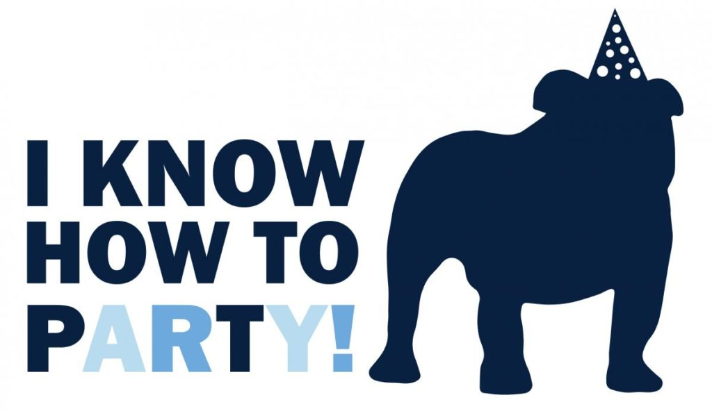 """I Know How to Party"" Banner"